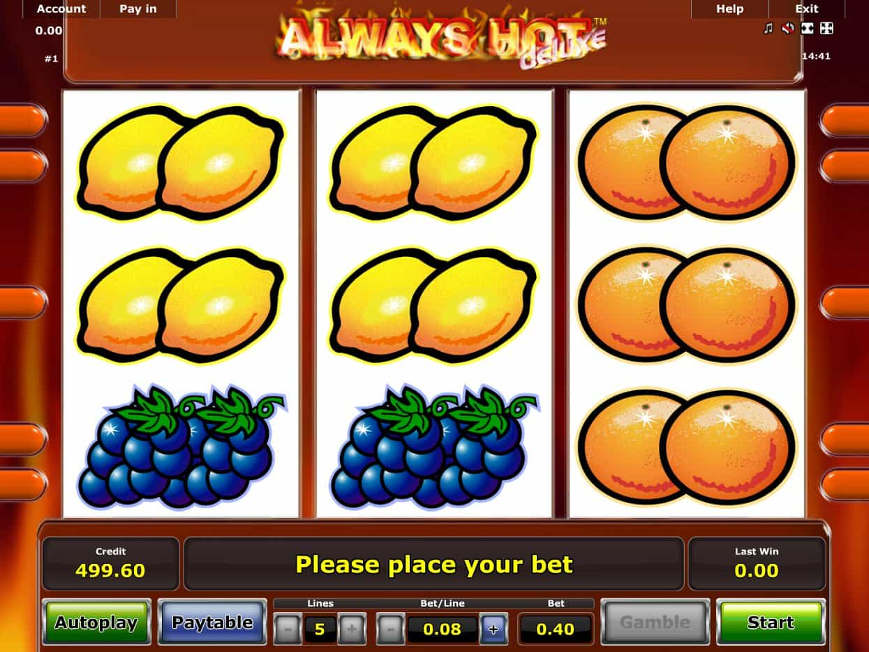 Spielautomat Kostenlos Sizzling