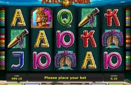 Kostenloses Online-Automatenspiel Aztec Power