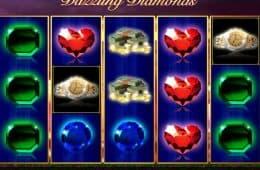 Online-Casino-Spielautomat Dazzling Diamonds ohne Einzahlung