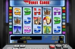 Kostenloser Online-Spielautomat First Class Traveller ohne Einzahlung