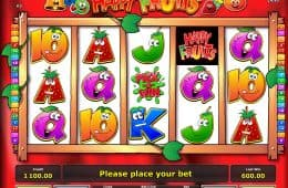 Online-Casino-Spielautomat Happy Fruits