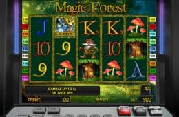 Online-Casino-Automatenspiel Magic Forest