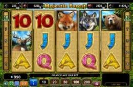Spielen Sie den kostenlosen Online-Spielautomaten Majestic Forest