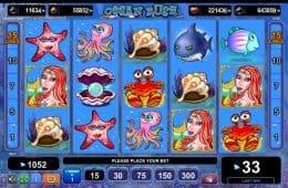 Drehen Sie beim kostenlosen Casino-Automatenspiel Ocean Rush