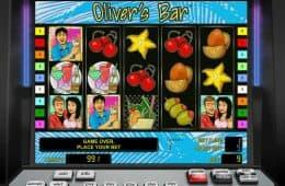 Kostenloser Casino-Spielautomat Olivers Bar zum Spaß