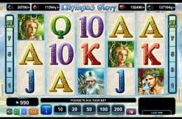 Spielen Sie das kostenlose Online-Automatenspiel Olympus Glovy ohne Einzahlung
