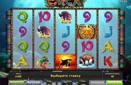 Kostenloser Online-Spielautomat Orca Online ohne Einzahlung
