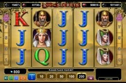 Online-Slot-Spiel Royal Secrets