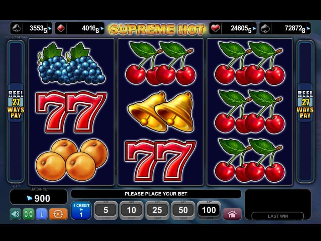 Spiele Supreme Hot - Video Slots Online