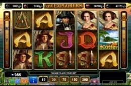 Spielen Sie den kostenlosen Casino-Spielautomaten The Explorers