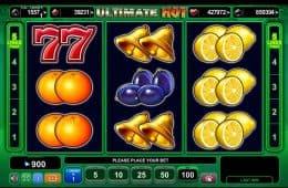 Spielautomat Ultimate Hot ohne Einzahlung