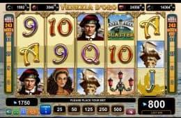 Kostenloser Casino-Spielautomat Venezia D'oro