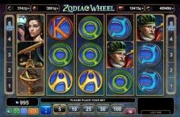 Online-Casino-Spielautomat Zodiac Wheel