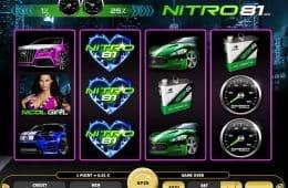 Kostenloses Online-Casino-Automatenspiel Nitro 81