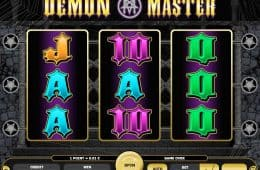 Kostenloses Online-Casino-Automatenspiel Demon Master