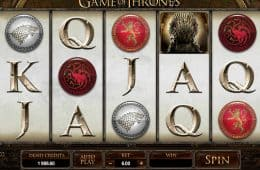 Spielen Sie das Automatenspiel Game of Thrones - 243 ways