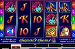 Spielen Sie das kostenlose Online-Automatenspiel Genie's Gems