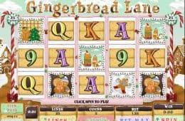 Spielen Sie das kostenlose Online-Automatenspiel Gingerbraed Lane