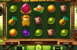 Spielen Sie das kostenlose Automatenspiel Go Bananas! ohne Einzahlung