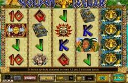 Kostenloses Online-Automatenspiel Golden Jaguar
