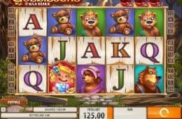 Spielen Sie das kostenlose Online-Automatenspiel Goldilocks and the Wild Bears