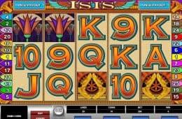 Kostenloses Online-Automatenspiel Isis