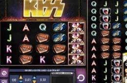 Spielen Sie das kostenlose Automatenspiel Kiss ohne Download