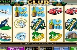 Bild des kostenlosen Online-Automatenspiels Millionäre Club II