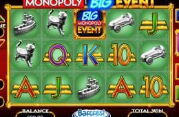 Online-Automatenspiel Monopoly zum Spaß