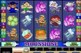 Kostenloses Online-Automatenspiel Moonshine