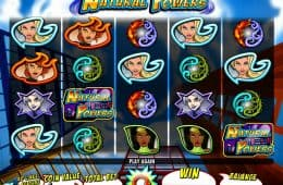 Bild des Online-Casino-Automatenspiels Natural Powers
