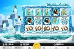 Spielen Sie das kostenlose Casino-Automatenspiel Penguin Splash