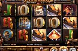 Spielen Sie das kostenlose Casino-Automatenspiel Pinocchio