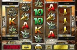 Kostenloses Online-Automatenspiel Rambo ohne Einzahlung