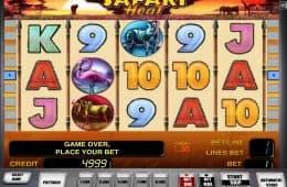 Kostenloses Online-Automatenspiel Safari Heat ohne Einzahlung