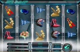 Spielen Sie das Online-Automatenspiel Ski Jump
