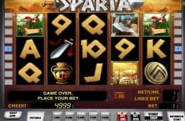 Kostenloses Casino-Automatenspiel Sparta ohne Einzahlung