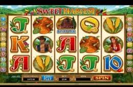 Spielen Sie den Casino-SpielautomatenSweet Harvest ohne Einzahlung