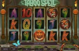 Kostenloses Online-Casino-Automatenspiel Taboo Spell