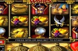 Spielen Sie das kostenlose Online-Automatenspiel Three Wishes