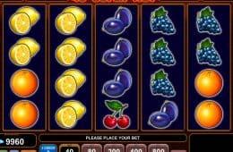 Bild des kostenlosen Casino-Automatenspiels 40 Super Hot