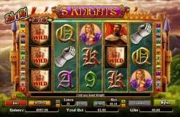 Spielautomat 5 Knights ohne Einzahlung