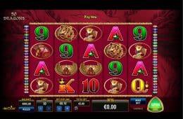 Bild des Online-Automatenspiels 50 Dragons
