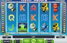 Online-Casino-Spielautomat Alien Robots ohne Registrierung