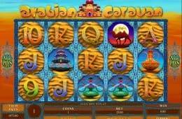 Online-Spielautomat Arabian Caravan zum Spaß