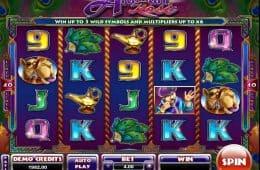 Spielen Sie den kostenlosen Spielautomaten Arabian Rose ohne Einzahlung