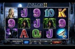 Spielen Sie den kostenlosen Online-Spielautomaten Avalon II