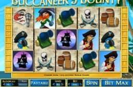 Kostenloser Online-Spielautomat Buccaneer's Bounty