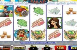 Kostenloser Online-Spielautomat Caesar Salad