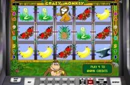 Online-Casino-Automatenspiel Crazy Monkey